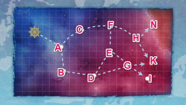 深海後方海域北部:深海後方海域強行偵察