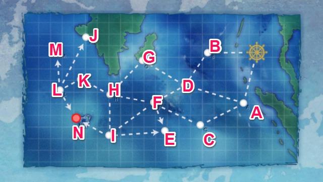 ステビア海アンズ諸島沖:アンズ環礁秘匿泊地攻撃
