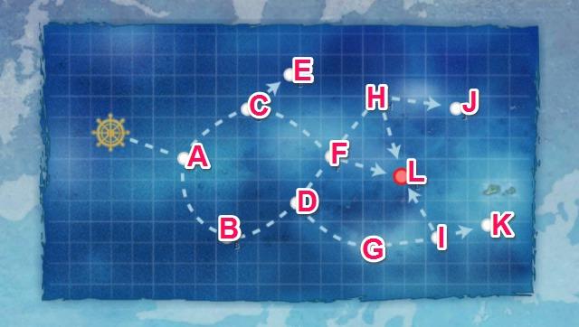 北太平洋海域:MI作戦前路哨戒