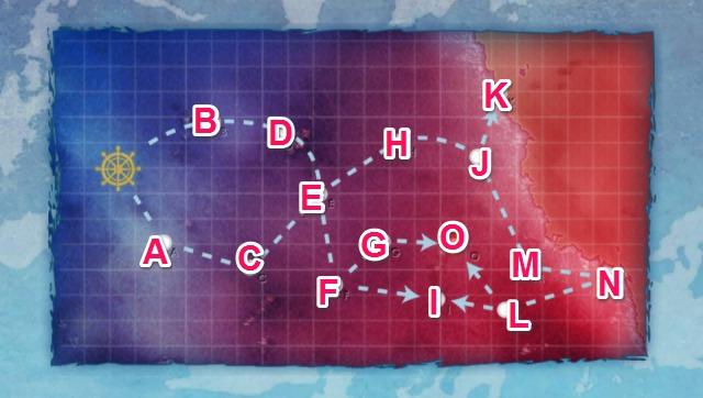 深海後方海域西海岸部:深海西海岸沖海戦