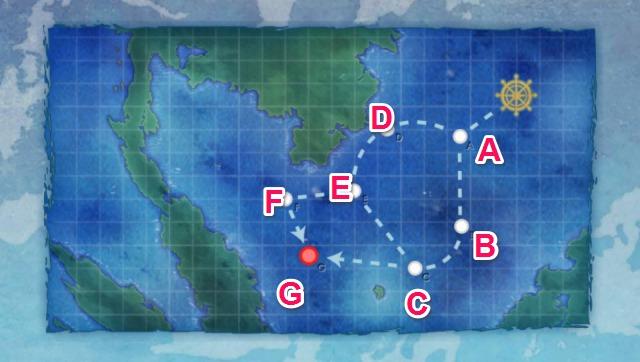 西南作戦沿岸部:艦隊 南へ