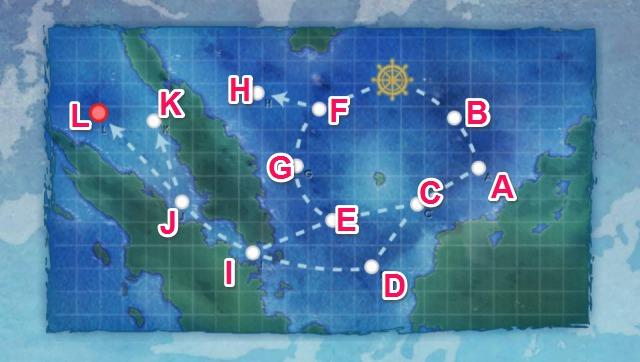 西南海域要塞沖:東洋艦隊追撃戦