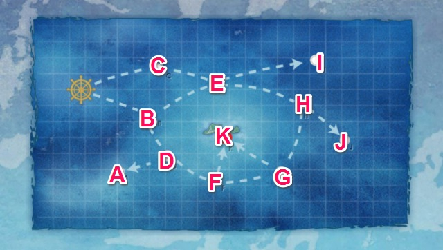 MI諸島近海:MI島攻略作戦
