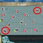【艦これ】2-4「沖ノ島海域」で浦波掘りに挑戦!