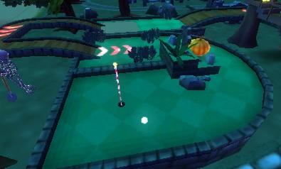 3DS:ミニリゾートゴルフ