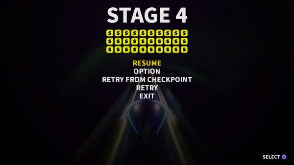 上画像でいうとこれで「STAGE4、Sランク」トロフィーが獲れるとう感じです